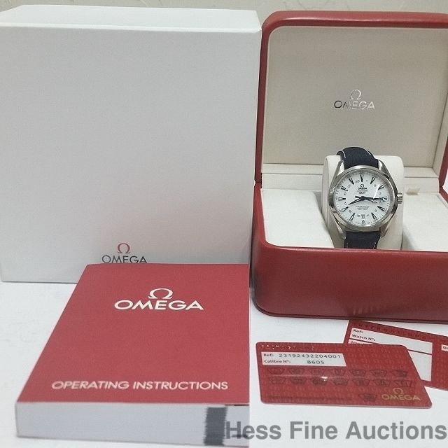 $10,100 Retail Brand New Omega GMT Seamaster Coaxial Watch Box Tags Papers #Omega #Diver
