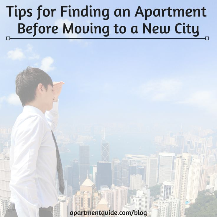 Finding an apartment before moving to a new city can be tricky, so here are