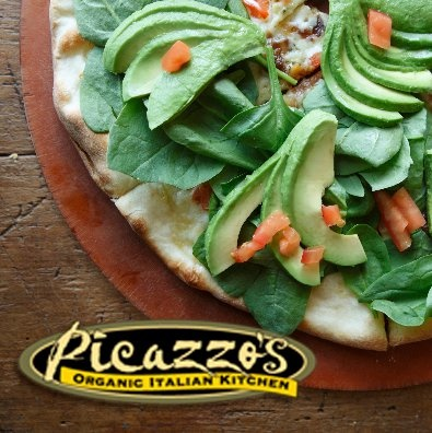 Picazzo's organic and gluten free pizza, and fabulous salads and pastas too!  We WILL be back!