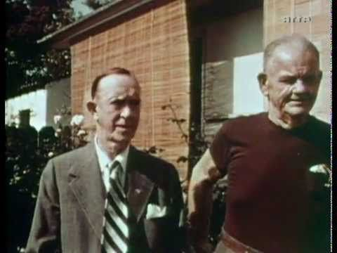 Last footage from Laurel & Hardy ever! In 1956!