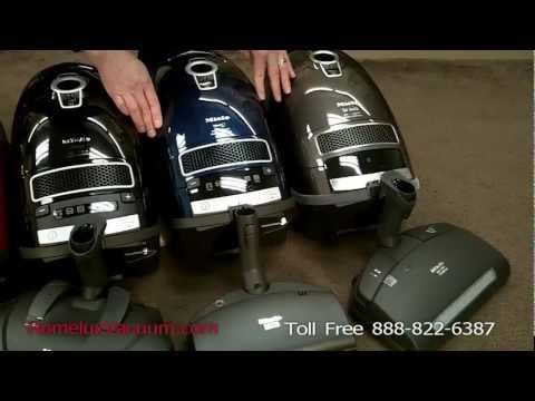 Miele C3 Marin, Brilliant & Kona Vacuum Review & Comparison - Miele Vacuums in San Diego, Encinitas - YouTube