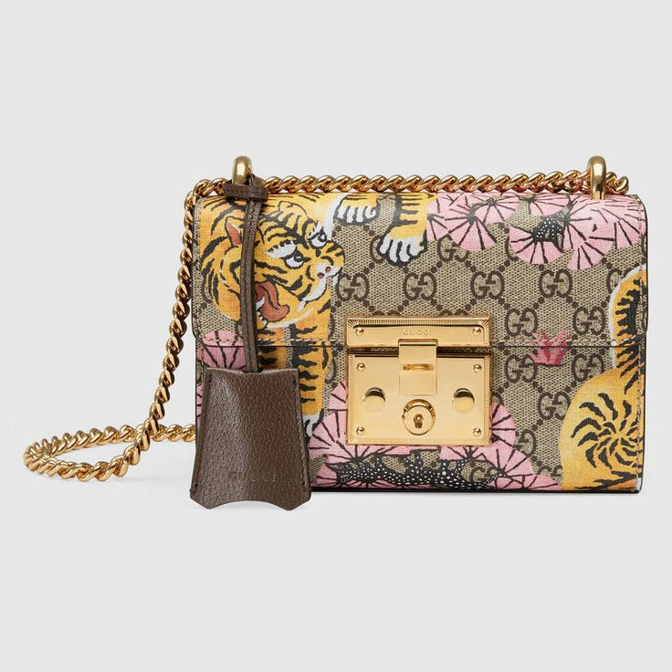 Padlock Gucci Bengal shoulder bag