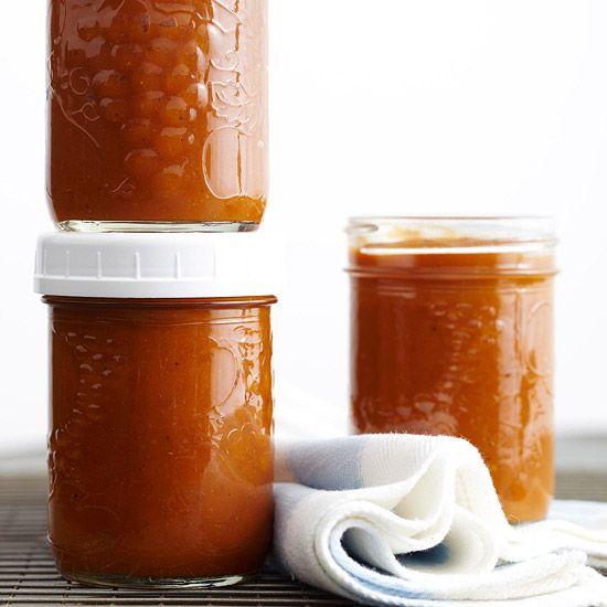 Spiced Pumpkin Butter {side}