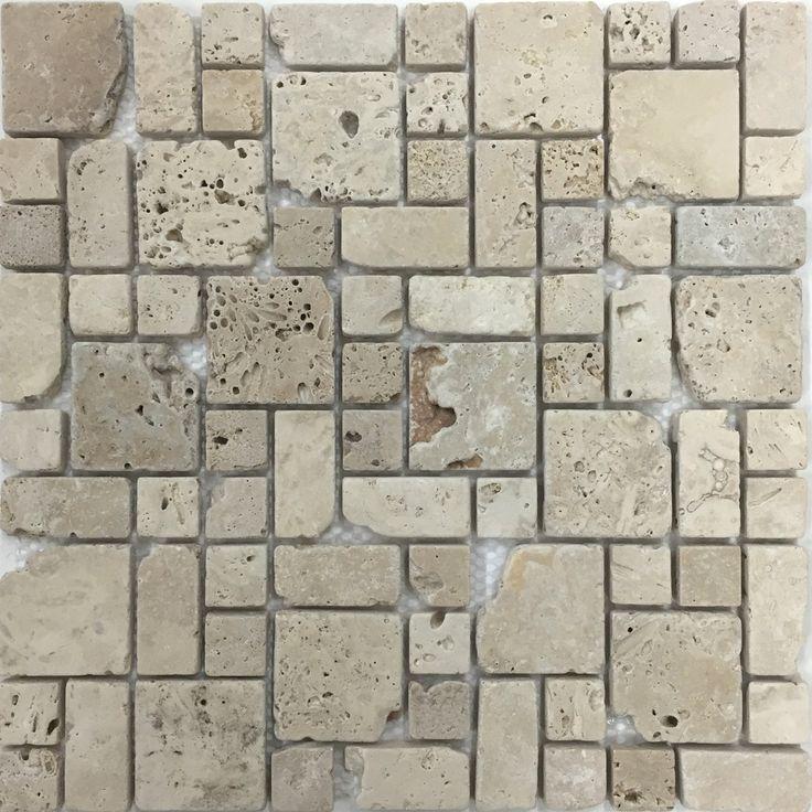 Natural Travertine Mosaic Tile L 300mm W 300mm: 58 Best Mosaic Tiles Images On Pinterest