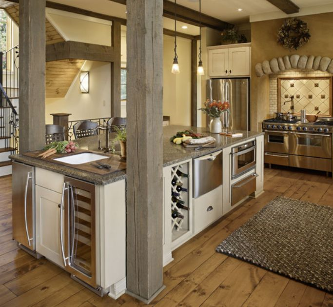 Rustic Open Kitchen Plans: 15 Best Images About Open Up A Galley Kitchen On Pinterest