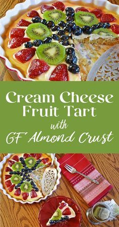Sweetened only with enough honey to enhance the fresh fruit. This tart isn't so sweet you'll regret eating it before lunch, yet also makes a light, refreshing dessert. A gluten-free recipe just right for brunch, dessert, or afternoon tea.