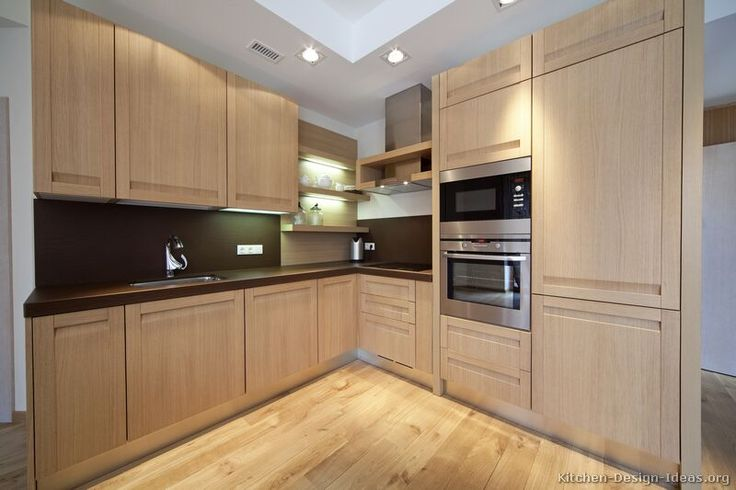 kitchen idea of the day modern light wood kitchens kitchen design contemporary wood on kitchen cabinets light wood id=79740