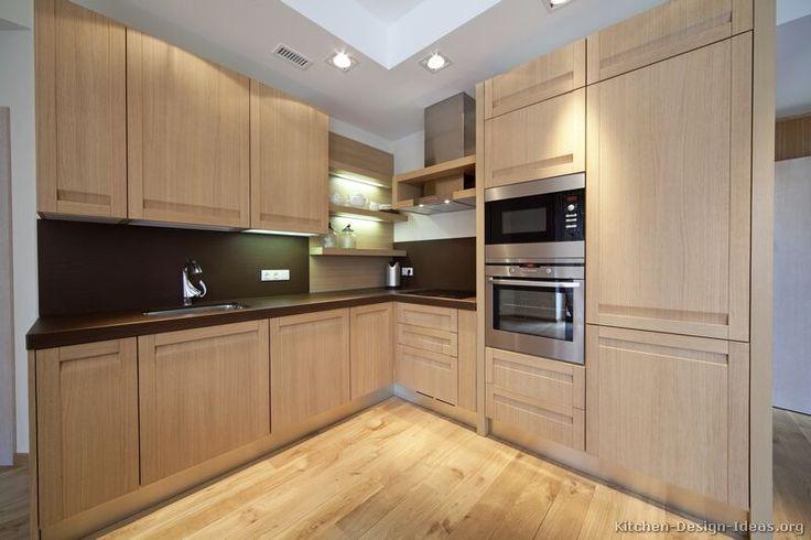 Best Kitchen Idea Of The Day Modern Light Wood Kitchens 400 x 300