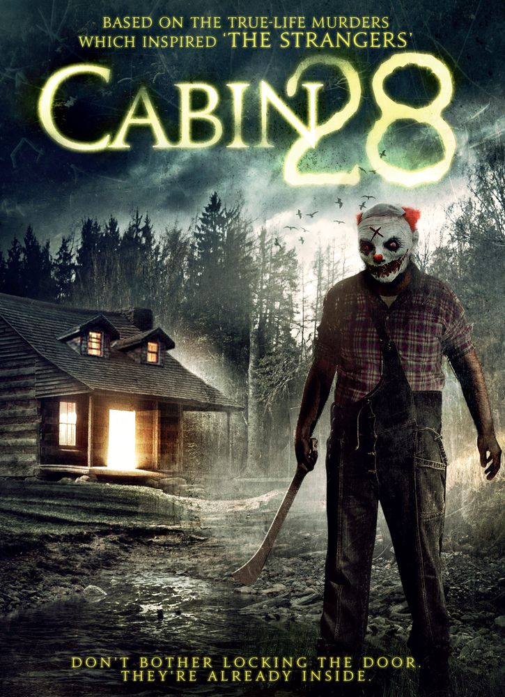 Cabin 28 Dvd 2017 Best Buy Scary Movies Horror Movie Posters Horror Movie Fan