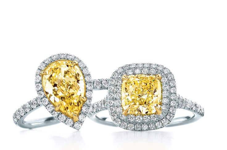 Yellow Diamond Engagement Rings Perth