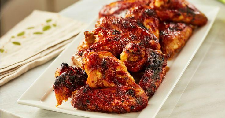 [Homemade] 3 Ingredient Chicken Wings