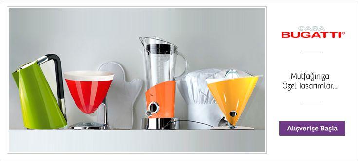 Mutfağınıza Özel Tasarımlar. - http://www.depodyum.com/bugatti-kucuk-ev-aletleri - Bir Podyum Havası.