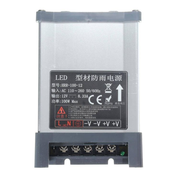 IP65 AC 100V-264V To DC 12V 100W Switching Power Supply Driver Adapter  Worldwide delivery. Original best quality product for 70% of it's real price. Buying this product is extra profitable, because we have good production source. 1 day products dispatch from warehouse. Fast & reliable...