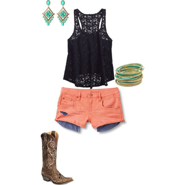 Perfect Summer Concert Outfit. I have all the pieces. Just gotta put it together.