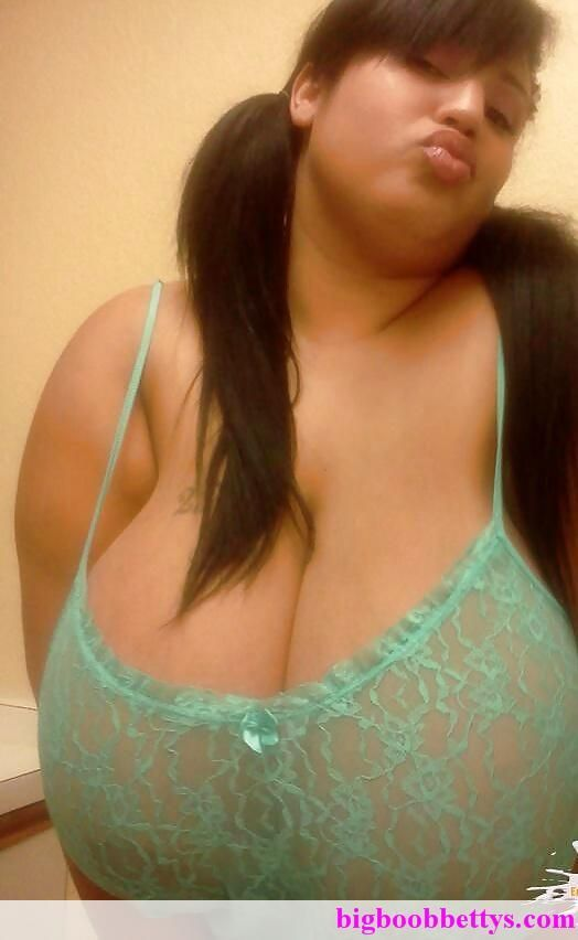 Chubby girl with massive tits — 7