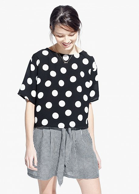 Polka dots clothes and accessories for Summer 2015