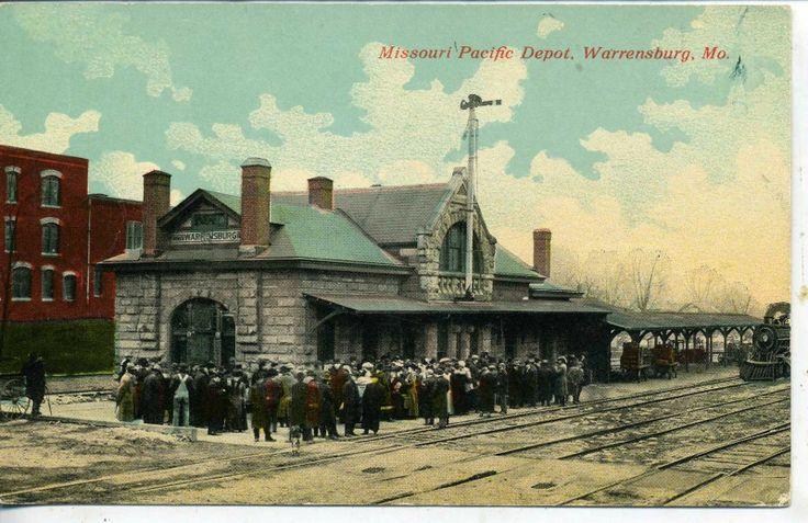 10 Best Railroad Depots In Missouri Images On Pinterest