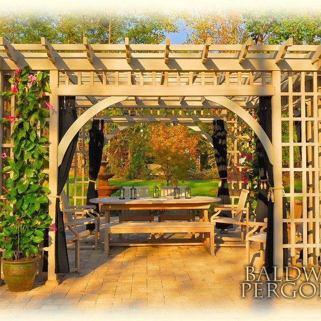 13 best pergola new house images on pinterest pergola for 7194 garden pond