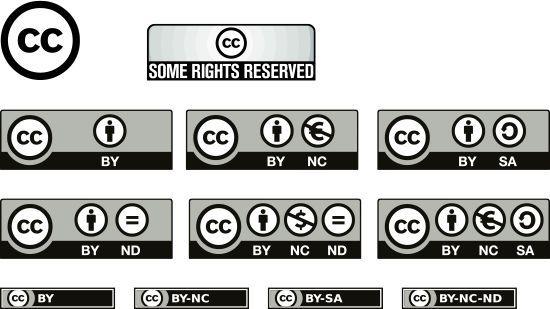 Licencias de utilización de materiales en la red