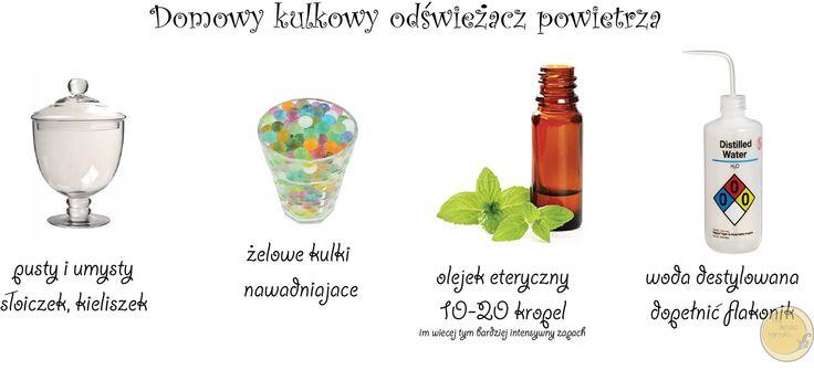 Tutaj Mieszka Agnieszka: Jak zrobić domowy kulkowy odświeżacz powietrza