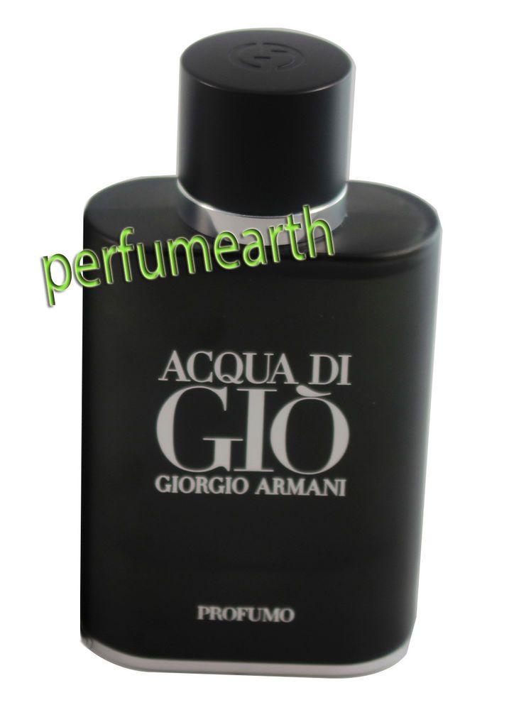 ACQUA DI GIO PROFUMO TESTER2.5 OZ EDT SPRAY FOR MEN NEW IN TESTER BOX BY GIORGIO ARMANI. Fragrance Name: Acqua Di Gio Profumo. Size:2.5 Fl.oz ( 75 ML ). Gender: Men.   eBay!