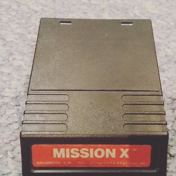 "Shared by the.man.cave.cinema #intellivision #microhobbit (o) http://ift.tt/1VqYF3L Game ""Mission X""  CDN $5.00  #Intellivision #ecw7445294  Intellivision game ""Mission X""  The game has been tested on a original working Mattel Intellivision console.  The game has been tested and working properly.  #retrogaming"