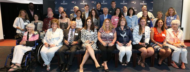 Cara at the awards ceremony for the 2016 Myra Kraft Community MVP Awards.  http://www.patriots.com/news/2016/06/02/new-england-patriots-charitable-foundation-donates-200000-names-2016-myra-kraft