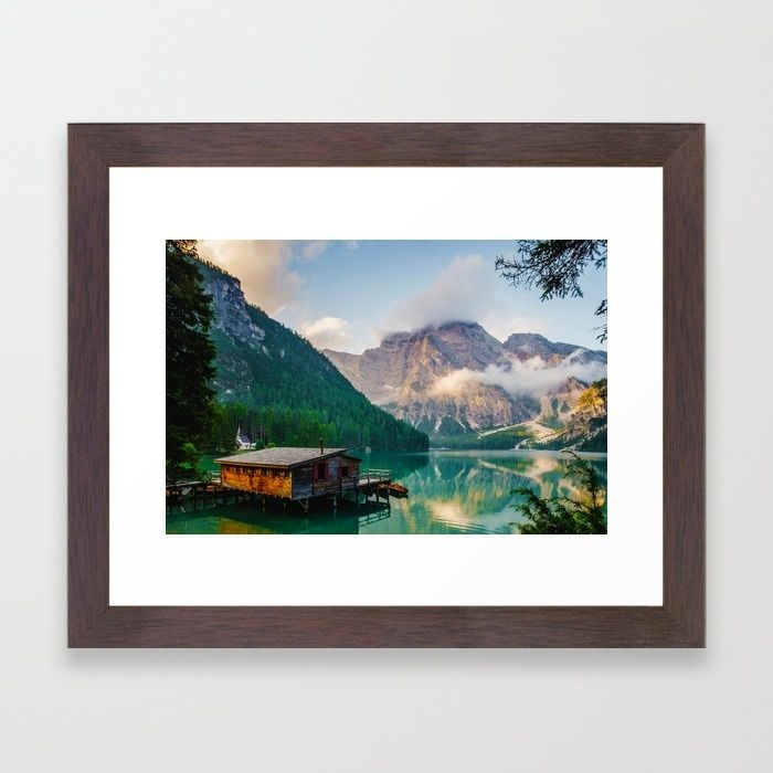 The Place To Be III Framed Art Print by Mixed Imagery | Society6