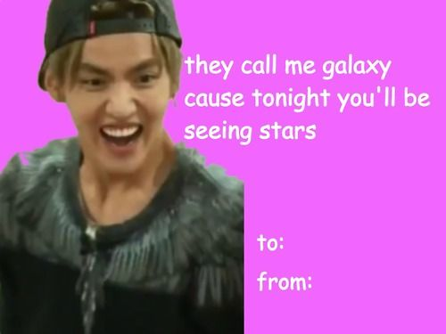 Pin By Avery Richardson On Kpop Valentines Cards Kpop Valentines Exo