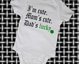Cute onesie from Etsy; can't wait for St. Paddy's Day!