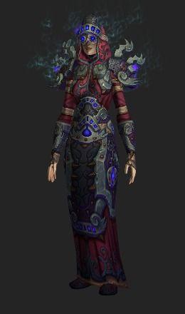 Chronomancer Regalia (Lookalike) - Сет Трансмогрификации - World of Warcraft
