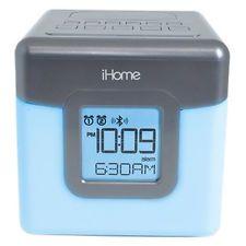 Ihome iBT28 Radio Reloj De Escritorio - 2 X Alarma-FM-Bluetooth USB que cambia…