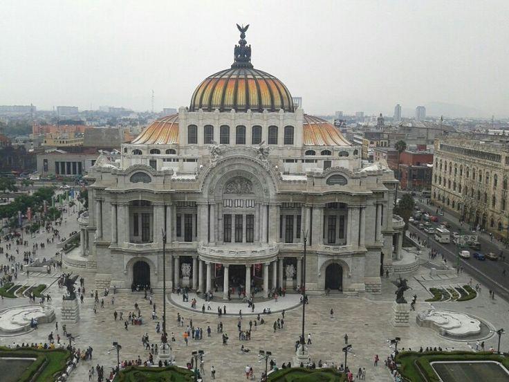 Bellas Artes, Ciudad de México... Tarde lluviosa