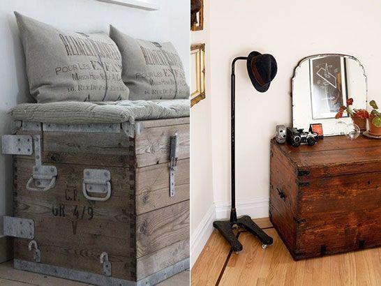les 25 meilleures id es de la cat gorie vieux coffre sur pinterest commodes peint en noir. Black Bedroom Furniture Sets. Home Design Ideas