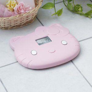 Hello Kitty Weight Bath Scale Pink Sanrio Bathroom BM Body Visceral Fat Health   eBay