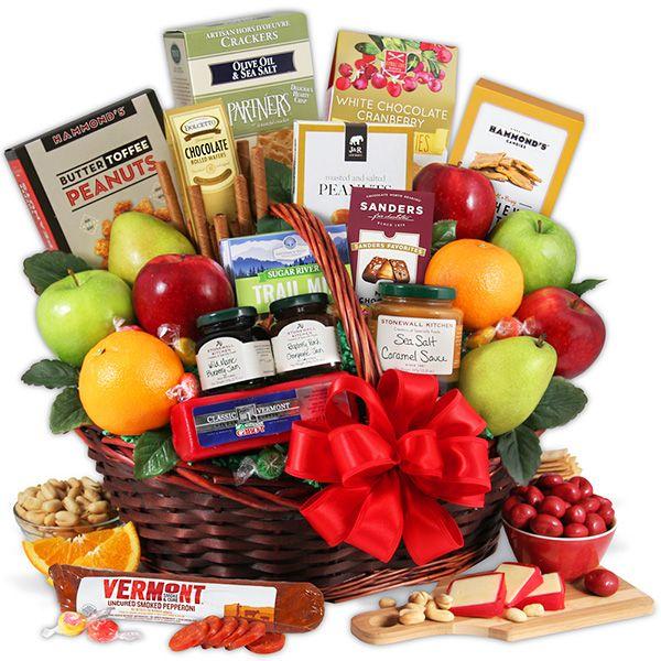 Bountiful Harvest - Fruit Gift Basket