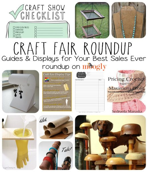 Craft Fair Checklist: Guides & Displays for Your Best Sales Ever! #crochet #knitting #jewelry #craftfair