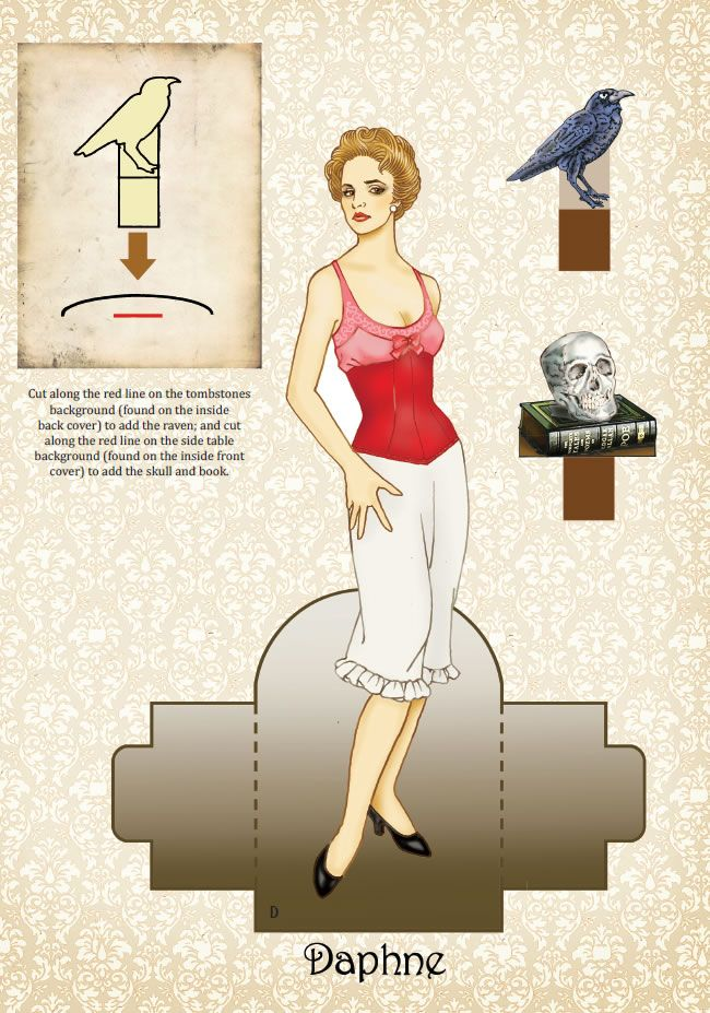 Victorian Vixens Paper Dolls <> Welcome to Dover Publications