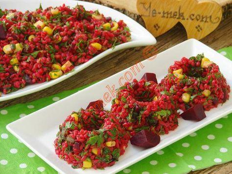 Kırmızı Pancarlı Bulgur Salatası nasıl yapılır? Kolayca yapacağınız Kırmızı Pancarlı Bulgur Salatası tarifini adım adım RESİMLİ olarak anlattık. Eminiz ki Kırmı