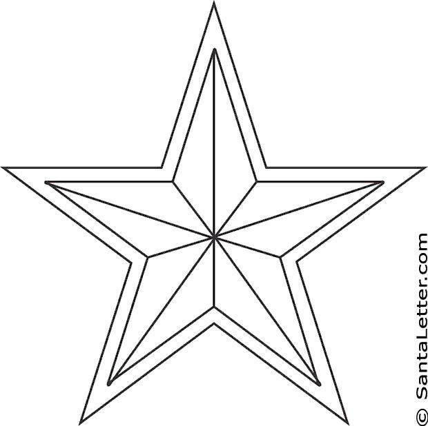 star coloring pages | Coloring Pages for Kids