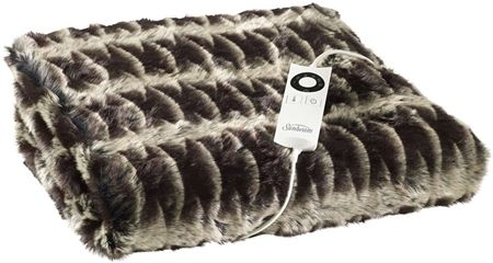 Sunbeam Feel Perfect Luxe Faux Fur Heated Throw