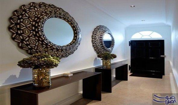 استغلال ممرات المنزل لإضافة الفخامة والروناقة إلي ديكور منزلك تعتبر الممرات الداخلية التى تربط بين أجزاء ا Foyer Decorating Hallway Designs Hallway Decorating
