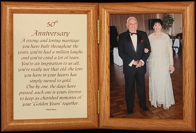 50th Anniversary Poems for Parents | click to read anniversary poems or wedding poems