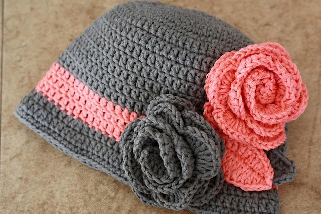 Crochet hat: Crochet Flowers, Colors Combos, Crochet Spring, Flowers Hats, Crochet Hats, Crochet Fabric, Gorro Tejido, Crochet Ganchillo, Spring Hats