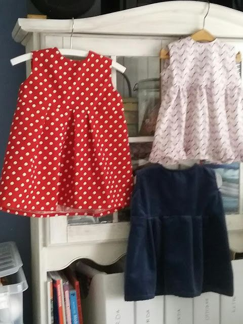 MOJE SZYCIE : Letnie sukienki dla dziewczynek /wykroje