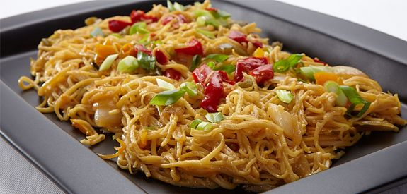 Review:  very good and so easy!!    Sandra Lee Vegetable Lo Mein- Vegetable Lo Mein