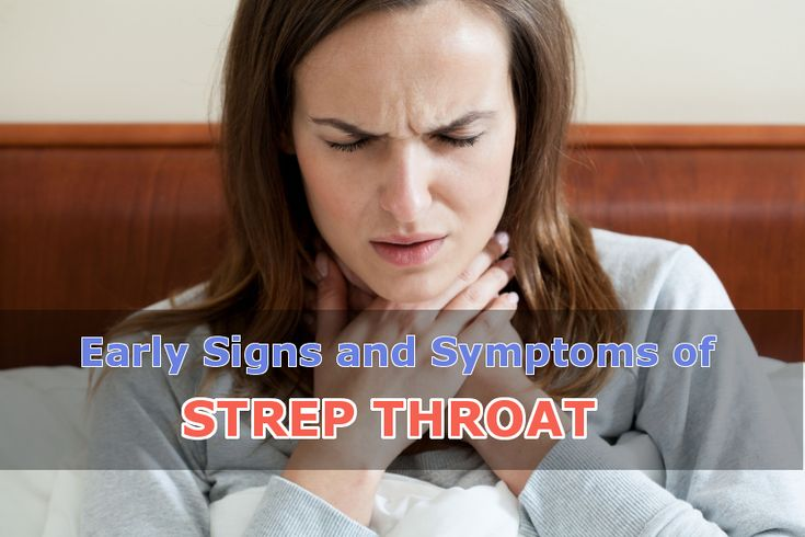Recognizing the Early Signs and Symptoms of Strep Throat - eHealthyBlog – Complete Health Information, Tips, Research, and News