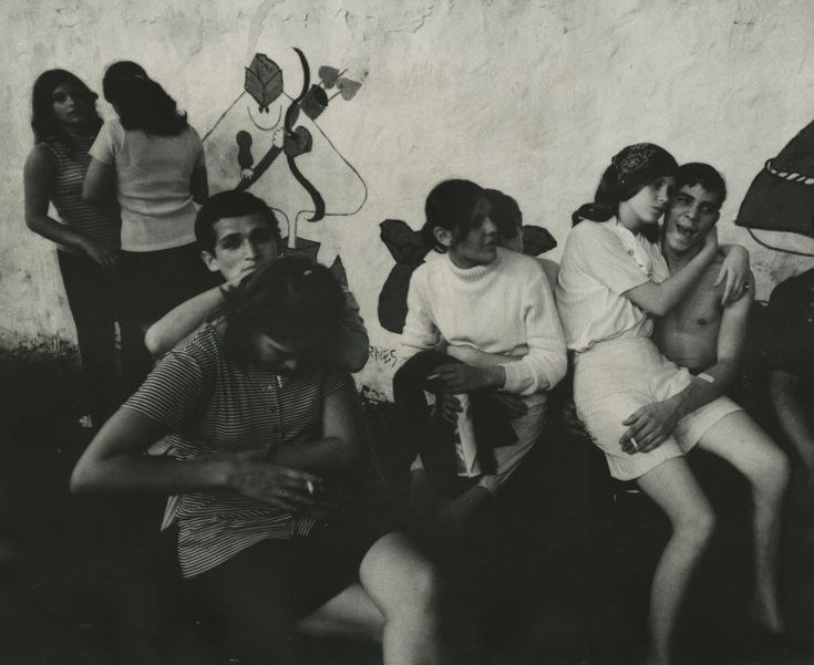 James Karales, Lower East Side, New York, 1969, black and white photograph, 13 1/2 X 16 5/8 inches.