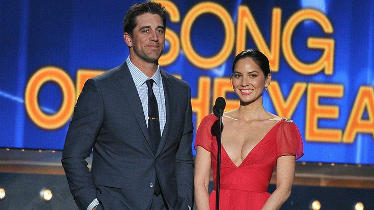 Aaron Rodgers reportedly dating Olivia Munn of 'The Newsroom'