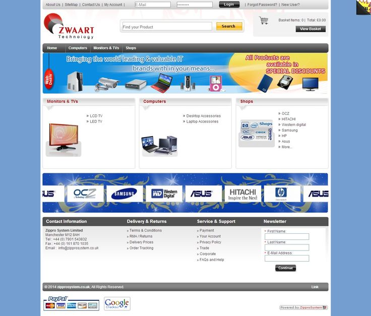 Startup Ecommerce View Store